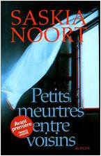 Livre petits meutres entre voisins Saskia Noort book
