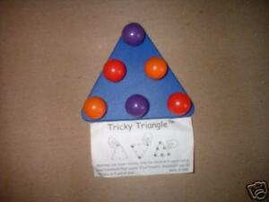 Tricky Triangle,Magnetic Puzzle Game.Great fun Party Game.Guaranteed delivery