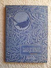 1944  WHITTIER HIGH SCHOOL YEARBOOK  WHITTIER, CALIFORNIA CARDINAL