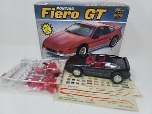 1987 PONTIAC FIERO GT MPC ERTL MODEL CAR KIT IN THE BOX JUNKYARD # 6401