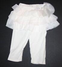 New Children's Place Ivory Tutu Skirt Full Length Leggings Size 18 Months NWT
