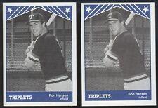 1983 Tri-Cities Triplets Ronald Hansen Lot - Applegate CA, Santa Clara Univ A342