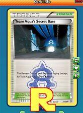 Team Aqua's Secret Base -  for Pokemon TCG Online (DIGITAL ptcgo in Game Card)