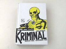 KRIMINAL AGOSTO 1966 NOVEMBRE 1966 MAX BUNKER- FUMETTO MONDADORI 2014 - BUONO L8