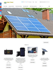 Solar Drop Shipping Website Business For Sale Fully Stocked