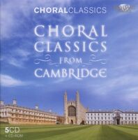 CAMBRIDGE CHOIR - CHORWERKE AUS CAMBRIDGE-CHORAL CLASSICS BOX-SET 5 CD NEU