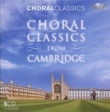 Cambridge Harlem-chorwerke de Cambridge-chants CLASSICS COFFRET 5 CD NEUF