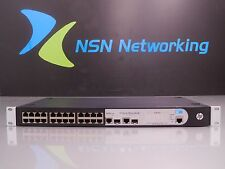 HP V1905-24 JD990A 24-Port Managed Layer 2 10/100 Switch w/ Rack Ears