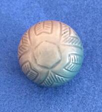 Antique - Large Celluloid Carved Ball Button