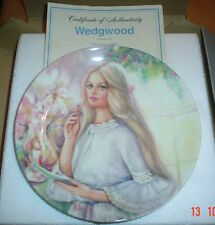 Wedgwood Collectors Plate THE LOVE LETTER From PORTRAITS OF FIRST LOVE