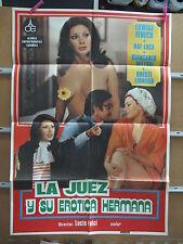 A3326 La juez y su erótica hermana Lucio Fulci Edwige Fenech, Raf Luca, Giancarl