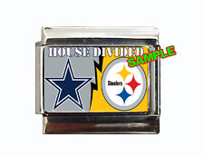 House Divided Custom Italian Charm! Choose your favorite NFL, MLB, or any teams!