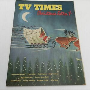 Vintage 1960's TV Times Christmas Extra Magazine 1962 [G+] Enid Blyton, Bing ...