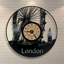 European Style Antique Wall Clock Large Vinyl Record CD Clocks Home Decor Watch