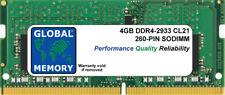 4GB DDR4 2933MHz PC4-23400 260-PIN SODIMM MEMORY RAM FOR LAPTOPS/NOTEBOOKS