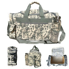 Camo Camouflage Army Duffle Duffel Bags Military Acu Sports Gym Travel Carry On