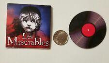 Miniature record albums Barbie Gi Joe 1/6  Figure  Playscale  Les Miserables