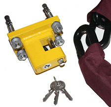 HD wall ground anchor with built in lock docking station off road buggy 18mm