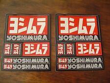 TWO YOSHIMURA STICKER SHEETS DECALS MOTOGP GENUINE SUZUKI HONDA KAWASAKI YAMAHA