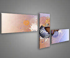 Quadri moderni 180 x 70 stampe su tela canvas intelaiate design moderno MIX-S_5