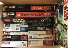 Lego Star Wars Lot 15 sets all retired Factory Sealed New CREASED Boxes