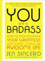 You Are a Badass, Hardcover by Sincero, Jen, Brand New, Free P&P in the UK