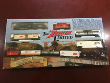 """New Sealed"" Zenith Limited Collector's Edition HO Scale Train Set"