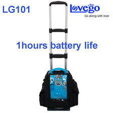 LG101 1-5L LCD 90% PORTABLE OXYGEN CONCENTRATOR WITH BATTERY FOR VEHICLE/HOME