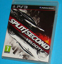 Split Second Velocity - Sony Playstation 3 PS3 - PAL