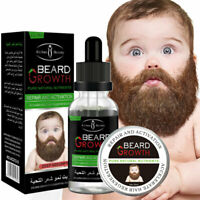 Natural Organic Men Beard Growth Oil Beard Wax balm Hair Loss Products