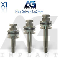 Hex Driver 2.42mm Manual Screwdriver Surgical Tool For Dental Implant