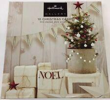 Sello de Navidad Noel Galería Tarjeta De Edición Caja De 10 Tarjetas 11484451