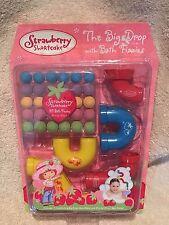 NEW Strawberry Shortcake - The Big Drop Bath Set w/ 30 Fizzies & 5 Maze Pieces
