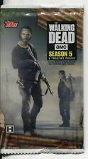 The Walking Dead Season 5 Factory Sealed Hobby Pack