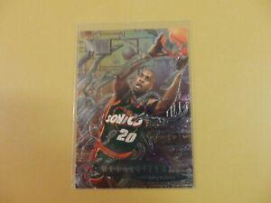 1996-97 Fleer Metal Gary Payton Metallized #228