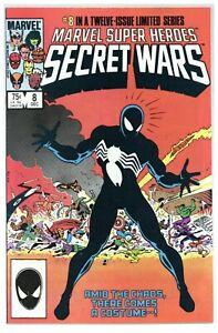 Marvel Super Heroes Secret Wars #8 1st BLACK COSTUME! Venom Symbiote (j#5175)