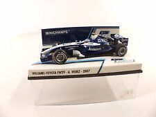 Minichamps - Williams Toyota FW29 - A.Wurz 2007 - 1/43 neuf boxed/en boite MIB