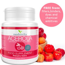 250g Acerola Cherry Powder Extract 25% Natural Vitamin C -NO Fillers and Binders