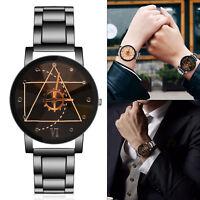 Couples Quartz Watch Men Women Stainless Steel Wrist Watch Ultra-Thin  Luxury