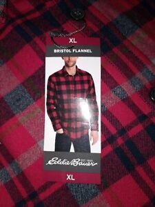NWT Eddie Bauer Bristol Flannel Men's Xl