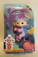 "Authentic WowWee Fingerlings Baby Monkey ""Sydney"" Purple - Brand New in Package"