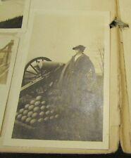 Vintage 1930's 63 Photo Album Trips to Gettysburg Battlefield & Fort Washington