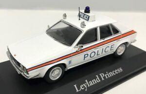 ATLAS BEST OF BRITISH POLICE CARS 1/43 LEYLAND PRINCESS HAMPSHIRE POLICE