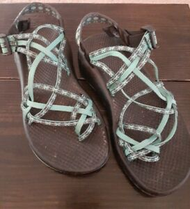 Chaco Size 7 M US Women's Sport Sandals - Black and teal
