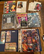 Lot of Miscellaneous Comic Book Promo Materials
