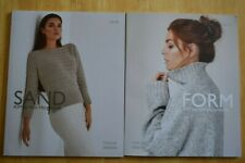 Kim Hargreaves Sand 9781906487355 + Form 9781906487348 Knitting Book 24 Patterns