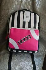 Betsey Johnson Luv Betsey By Play Kitsch Full Size Football Printed Backpack