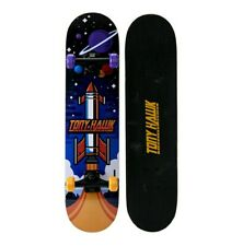 "Tony Hawk 31"" Popsicle Space Hawk Skateboard With Pro Trucks And Abec1 Bearings"