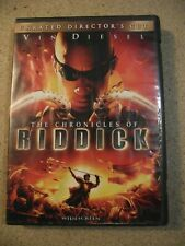 The Chronicles of Riddick (Dvd 2004, Unrated Widescreen) Vin Diesel, Judi Dench