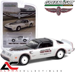PREORDER- GREENLIGHT 30226 1:64 1980 PONTIAC FIREBIRD TRANS AM INDY 500 PACE CAR